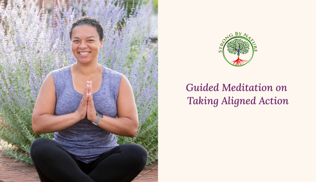 Guided Meditation on Taking Aligned Action